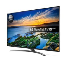"Телевiзор 49"" NanoCell 4K LG 49NANO866NA Smart, WebOS, Black"