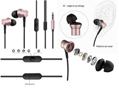 Навушники 1MORE E1009 Piston Fit Mic Pink