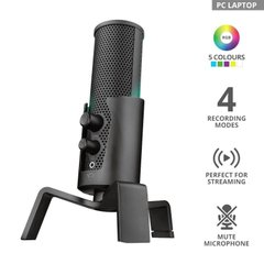Мікрофон Trust GXT 258 Fyru USB 4-in-1 Streaming Microphone Black