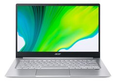 Ноутбук Acer Swift 3 SF314-42 14FHD IPS/AMD R3 4300U/8/256F/int/Lin/Silver