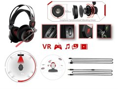 Навушники 1MORE Spearhead VRX Gaming Mic Black